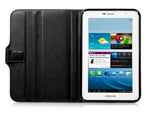 "Чехол CAPDASE Folder Case Flipjacket для Samsung Galaxy Tab 2 7.0"" Plus P3100 - чёрный"