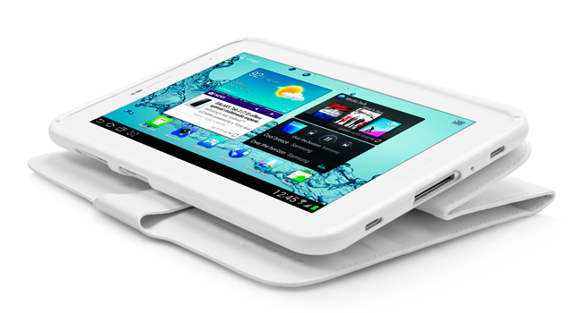 "Чехол CAPDASE Folder Case Flipjacket для Samsung Galaxy Tab 2 7.0"" Plus P3100 - белый"