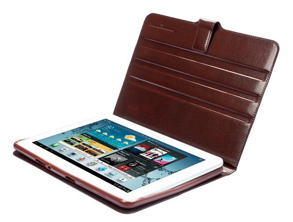 "Чехол CAPDASE Folder Case Flipjacket для Samsung Galaxy Tab 2 10.1"" P5100 - коричневый"
