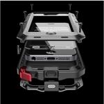 Противоударный, влагозащищенный чехол LUNATIK TakTik Extreme для iPhone 4/4S - черный