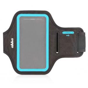 Спортивный чехол на руку Ahha Fitness Armband Tyler 133A 133 х 70 х 10 - серо-голубой