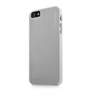 Силиконовый ультратонкий чехол CAPDASE Soft Jacket LAMINA для Apple iPhone 5/5S / iPhone SE - белый