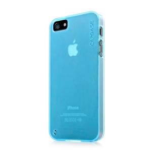 Силиконовый чехол CAPDASE Soft Jacket Xpose for Apple iPhone 5/5S / iPhone SE - голубой