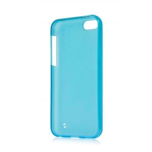 Силиконовый чехол Capdase SJ Xpose для Apple iPhone 5C - голубой