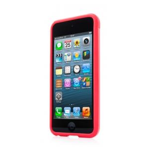 Металлический чехол CAPDASE Alumor Jacket для Apple iPod Touch 5 - красный
