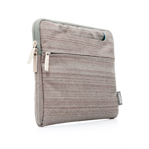 Горизонтальный чехол-сумка CAPDASE mKeeper Sleeve GENTO для Apple new iPad (3rd generation) / iPad 4 /  iPad 2 - серый