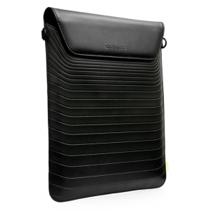 Вертикальный чехол-сумка CAPDASE mKeeper Sleeve VERSA для Apple new iPad (3rd generation) / iPad 4 / iPad 2 - чёрный
