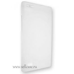 Силиконовый TPU чехол Capdase Soft Jacket Xpose для Blackberry Leap - белый