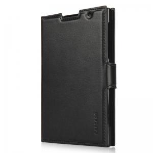 Чехол книжка Capdase Folder Case Sider Classic для BlackBerry Passport - черный