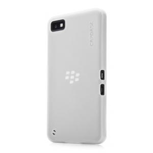 Силиконовый чехол Capdase Soft Jacket для Blackberry Z10 - белый
