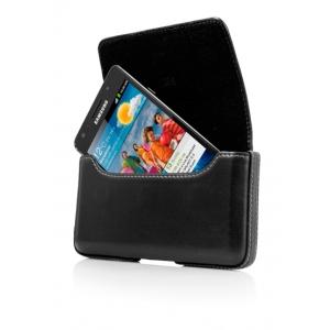 Чехол-сумочка поясной CAPDASE Klip Holster 126A размер 126 x 66 x 12 мм - чёрный