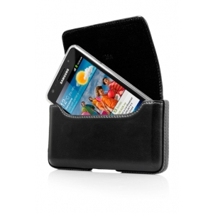 Чехол-сумочка поясной CAPDASE Klip Holster 129A размер 129 x 69 x 13 мм - чёрный