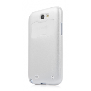 Металлический чехол CAPDASE Alumor Jacket для Samsung Galaxy Note GT-N7000 / Note LTE GT-N7005 - серебристый