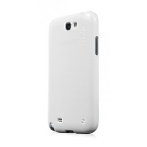 Силиконовый чехол с блёстками CAPDASE SJ SPARKO для Samsung Galaxy Note 2 GT-N7100 - белый