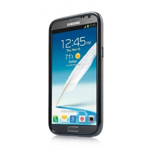 Силиконовый чехол CAPDASE Soft Jacket Xpose для Samsung Galaxy Note 2 GT-N7100 - черный