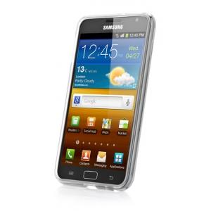 Силиконовый чехол Capdase Soft Jacket для Samsung Galaxy Note GT-N7000 / Note LTE GT-N7005 - белый