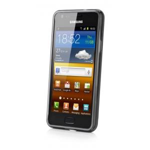 Cиликоновый чехол CAPDASE Soft Jacket для Samsung Galaxy R I9103 - чёрный