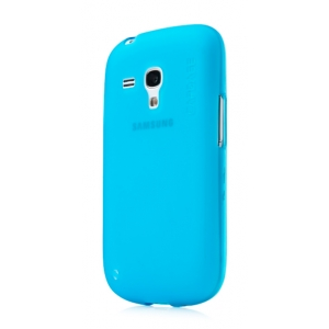 Силиконовый чехол CAPDASE Soft Jacket Xpose for Samsung Galaxy S3 Mini GT-I8190 - голубой