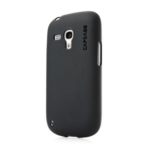 Силиконовый чехол CAPDASE Soft Jacket Xpose for Samsung Galaxy S3 Mini GT-I8190 - черный