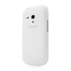 Силиконовый чехол CAPDASE Soft Jacket Xpose for Samsung Galaxy S3 Mini GT-I8190 - белый