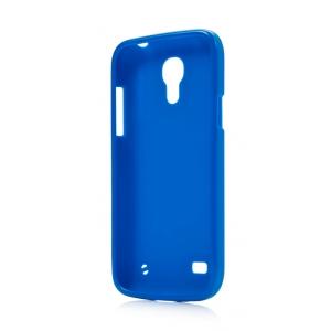 Силиконовый чехол CAPDASE Soft Jacket для Samsung Galaxy S4 Mini GT-I9190 - синий