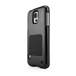 Металлический чехол CAPDASE Alumor Jacket для Samsung Galaxy S5 - черный