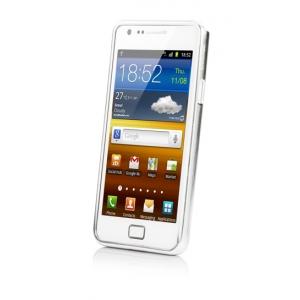 Металлический бампер Capdase Alumor Bumper для Samsung I9100 Galaxy S II / Galaxy S2 Plus GT-I9105 - серебристый