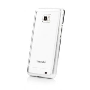 Металлический чехол CAPDASE Alumor Jacket для Samsung I9100 Galaxy S II / Galaxy S2 Plus GT-I9105 - серебристый