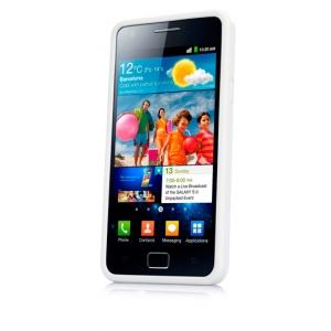 Чехол силикон + пластик Capdase Polimor Jacket для Samsung I9100 Galaxy S II / Galaxy S2 Plus GT-I9105  - белый