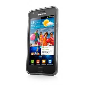 Силиконовый чехол CAPDASE Soft Jacket Xpose для Samsung I9100 Galaxy S II / Galaxy S2 Plus GT-I9105 - темно - серый