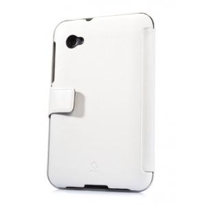 "Кожаный чехол CAPDASE Capparel Case для Samsung Galaxy Tab 7.0"" Plus / P6210 / P6200 - белый"