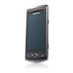 Силиконовый чехол CAPDASE Soft Jacket 2 Xpose для Samsung Wave S 8500 белый