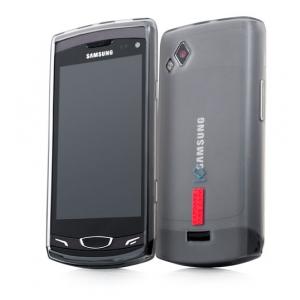 Силиконовый чехол CAPDASE Soft Jacket 2 Xpose для Samsung Wave II GT-S8530 темно - серый