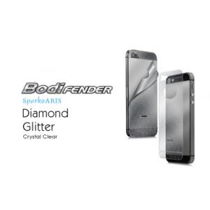 Глянцевая защитная плёнка с блёстками CAPDASE Sparko Aris на заднюю часть для Apple iPhone 5/5S / iPhone SE