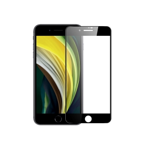 Стекло защитное полноэкранное Premium Tempered Glass для Apple iPhone SE (2020)/ iPhone 7/8