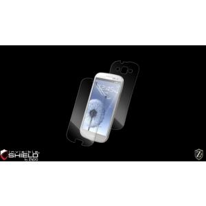 Защитная плёнка на экран и на заднюю часть  ZAGG invisibleSHIELD для Samsung Galaxy S III GT-I9300 (FB)
