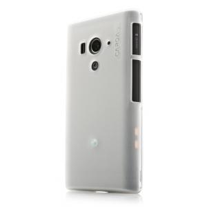Силиконовый чехол CAPDASE Soft Jacket Xpose for Sony Xperia Acro S - белый