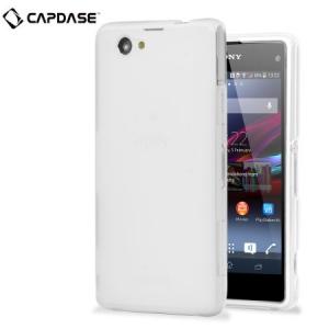 Силиконовый чехол Capdase Soft Jacket Xpose для Sony Xperia Z1 Compact M51w / Z1 Mini D5503 - прозрачный белый