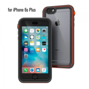 """Водонепроницаемый противоударный чехол Catalyst для iPhone 6/6S Plus (5.5"""") серо-оранжевый"""
