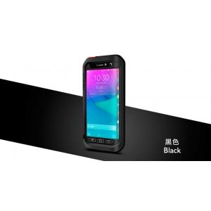 Противоударный, влагозащищенный чехол LOVE MEI POWERFUL для Samsung Galaxy Note EDGE - черный