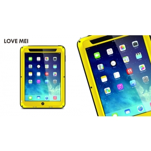 Противоударный, влагозащищенный чехол LOVE MEI POWERFUL для Apple iPad Mini / Apple iPad Mini с дисплеем Retina - желтый