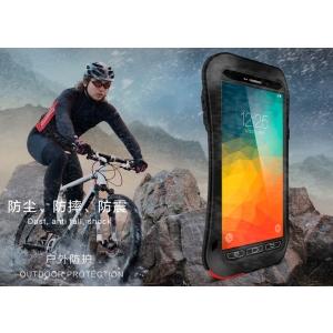 Противоударный, влагозащищенный чехол LOVE MEI POWERFUL Small Waist для Samsung Galaxy Note 5 - черный