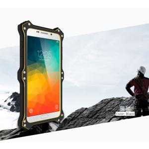 Противоударный, влагозащищенный чехол LOVE MEI MK2 для Samsung Galaxy Note 5 - черный
