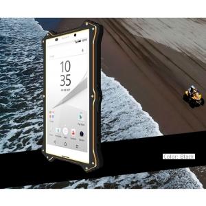 Противоударный, влагозащищенный чехол LOVE MEI MK2 для Sony Xperia Z5 / Z5 Dual - черный