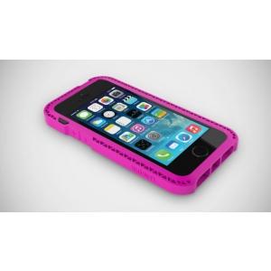 Противоударный чехол LUNATIK Seismik для Apple iPhone 5/5S / iPhone SE - розовый