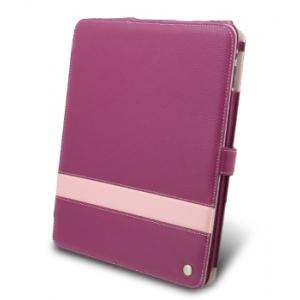 Кожаный чехол Melkco для Apple iPad 3G/Wifi - Limited Edition Book Type - сиреневый