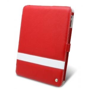 Кожаный чехол Melkco для Apple iPad 3G/Wifi - Limited Edition Book Type - красный