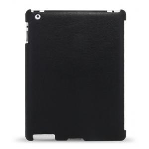 Кожаный чехол Melkco для  Apple iPad 2 dedicated to fit for Original Smart Cover - черный