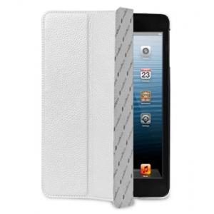 Кожаный чехол Melkco для Apple iPad Mini / Apple iPad Mini с дисплеем Retina - Slimme Cover Type - белый
