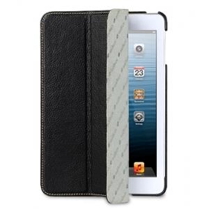 Кожаный чехол Melkco для Apple iPad Mini / Apple iPad Mini с дисплеем Retina - Slimme Cover Type - чёрный